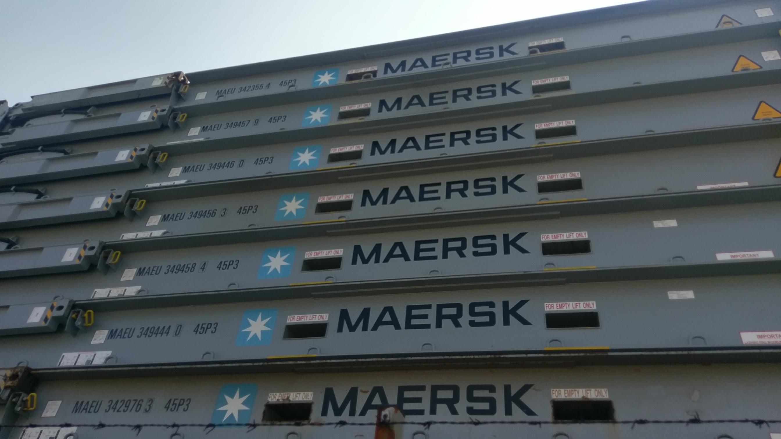 Maersk Container - Frachtpreise für Seefracht - Seefrachtexperte Contibridge