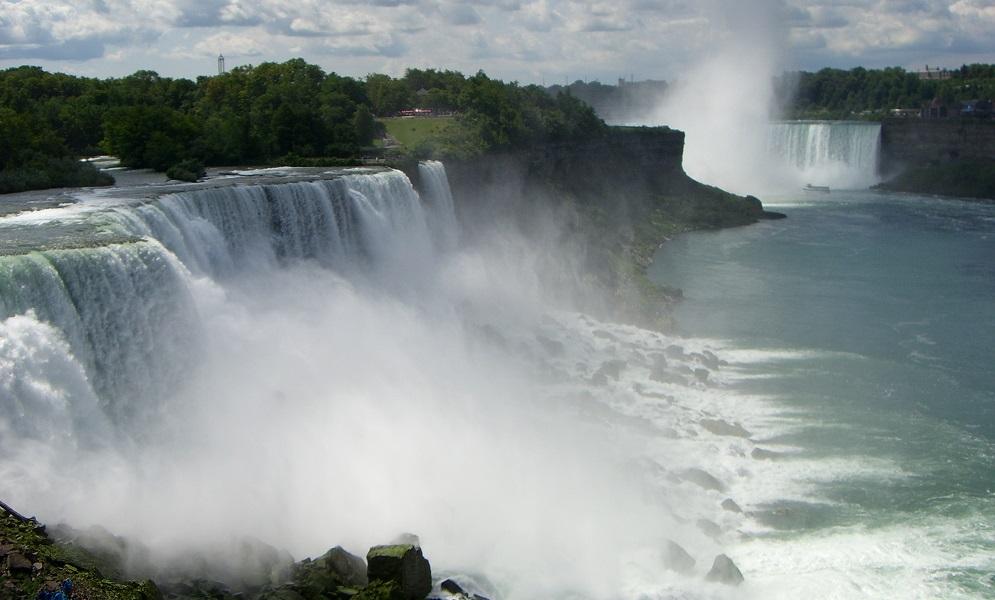 Niagarafaelle im Sonnenschein
